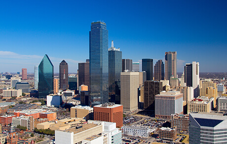 Skyline of Downtown Dallas