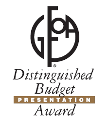 Distinguised Budget Presentation Award