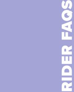 Rider FAQs Card Image