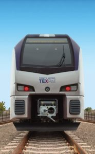 TEXRail Train Front View