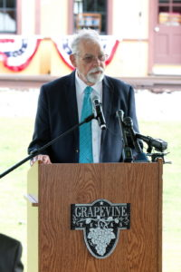 TEXRail Ground Breaking Grapevine Main Street Station Event