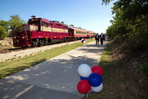 TEXRail Ground Breaking North Richland Hills Event