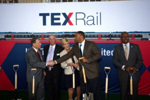TEXRail Ground Breaking T&P Station Event