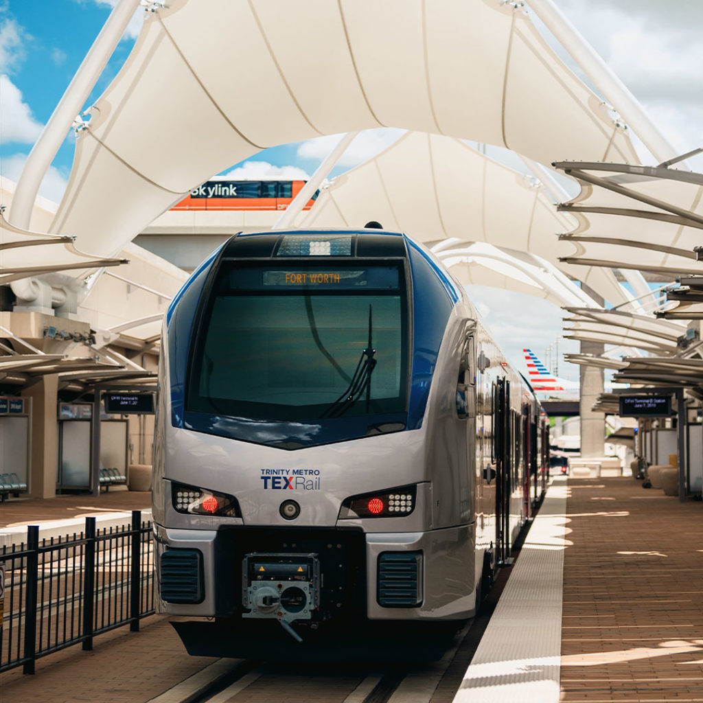 TEXRail at DFW Airport Trinity Metro Blog