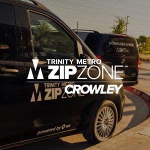 Trinity Metro ZIPZONE Crowley