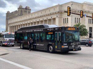 Trinity Metro Juneteenth Bus. Trinity Metro blog.