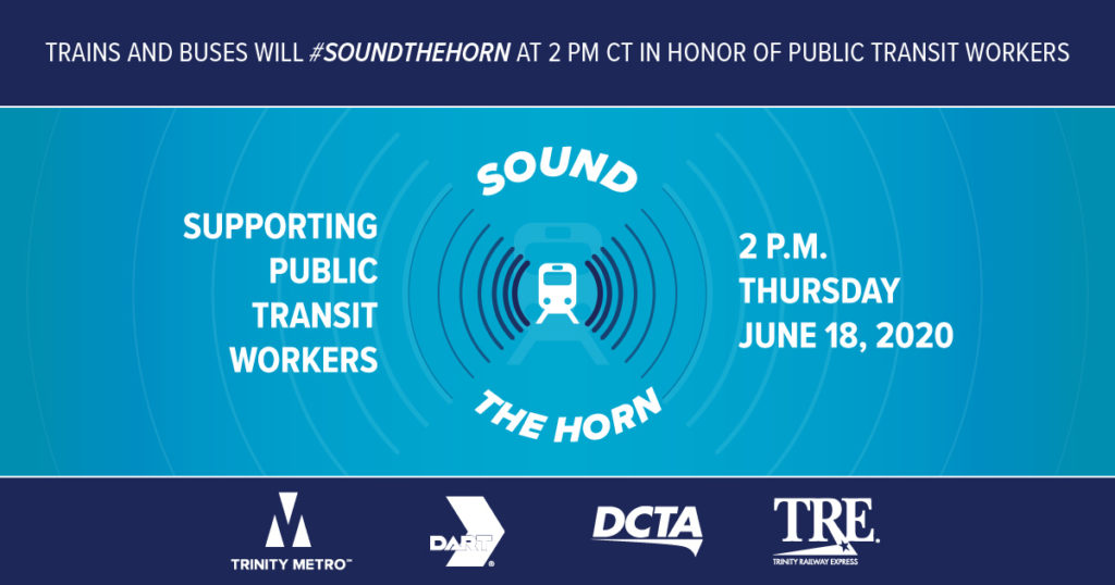 Sound The Horn. Trinity Metro Blog