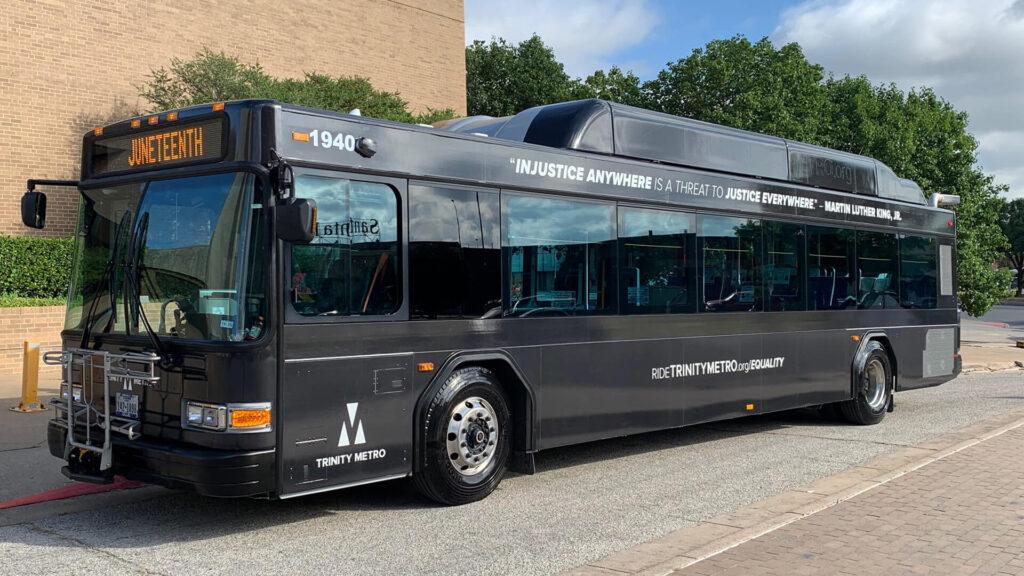 Trinity Metro Equality Bus