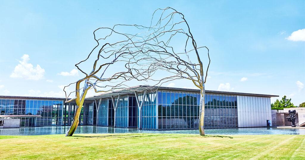 Modern Art Museum of Fort Worth. Trinity Metro Blog.