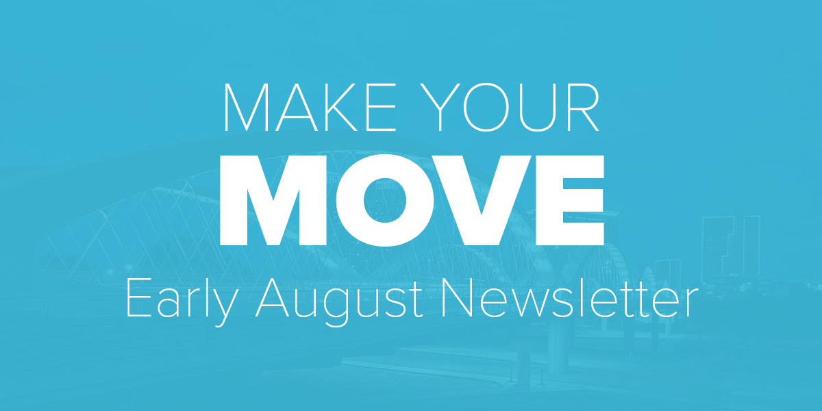 Early August Newsletter. Trinity Metro Blog.