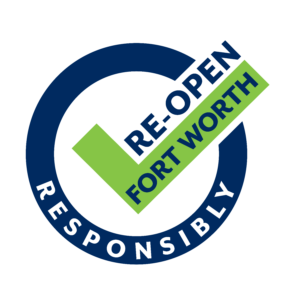 Re-open Fort Worth Responsibly Badge. Trinity Metro Blog,