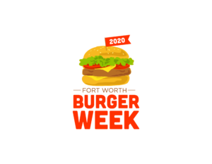 Fort Worth Burger Week Logo. Trinity Metro Blog.