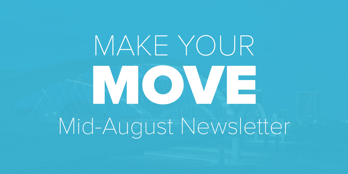 Mid August Newsletter. Trinity Metro blog.