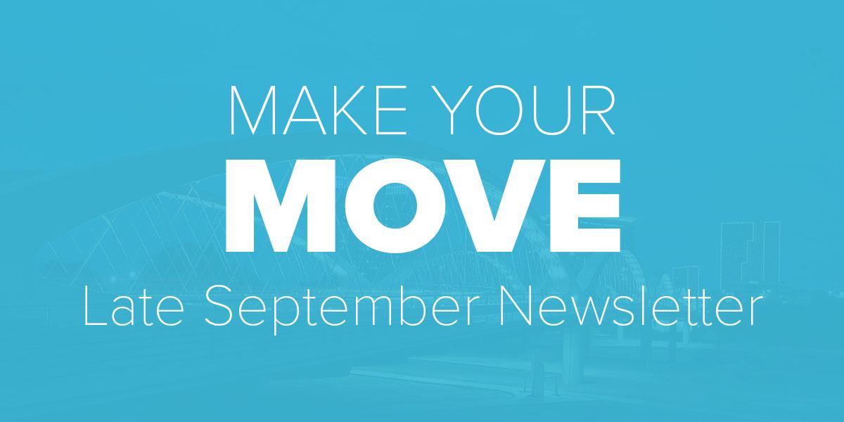 Late September Newsletter. Trinity Metro blog,