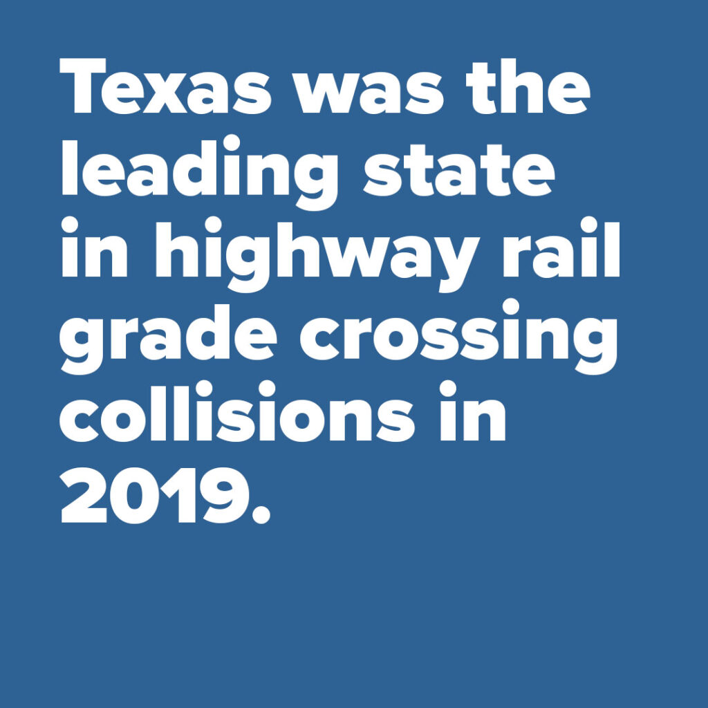 Rail Safety Facts. Trinity Metro Blog.