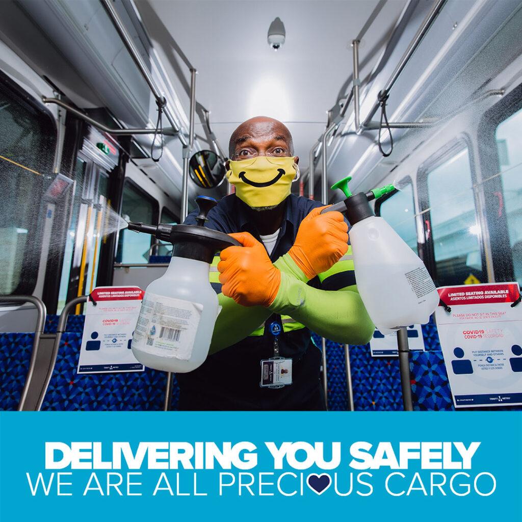 COVID-19 Service Updates. Trinity Metro Blog.