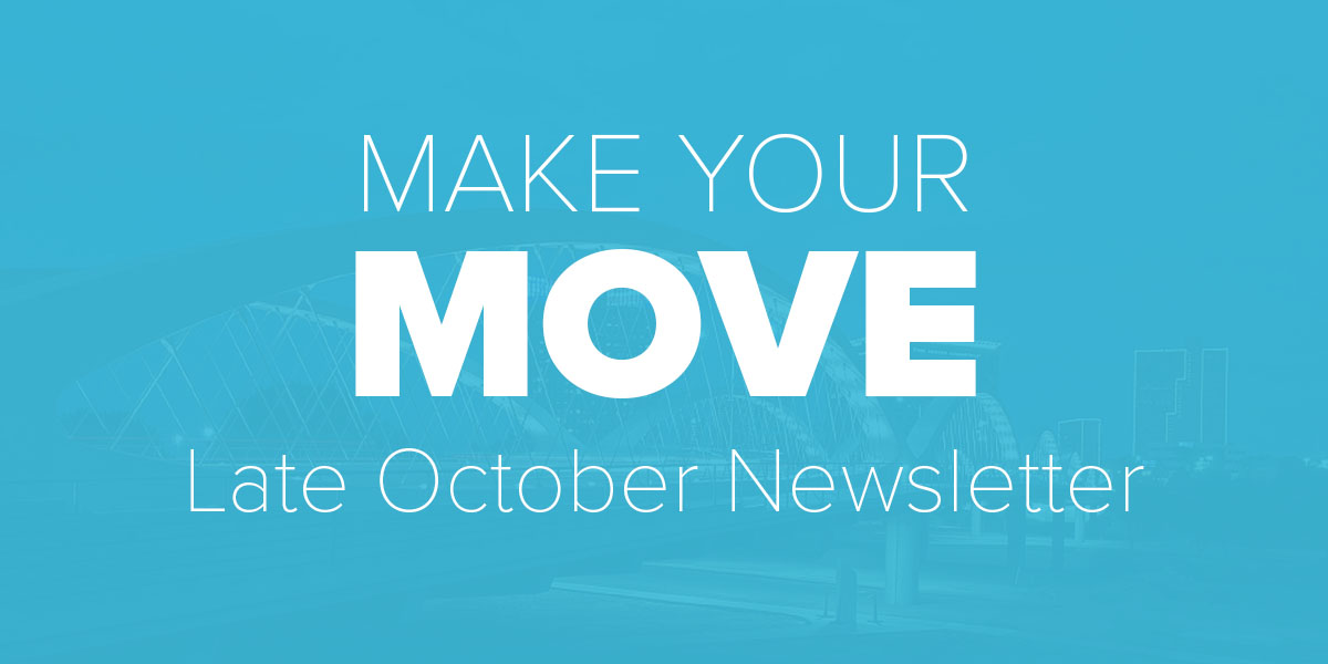 Late October Newsletter. Trinity Metro Blog.