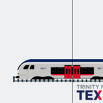 TEXRail Train Mobile Background