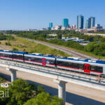 TEXRail Downtown Mobile Background