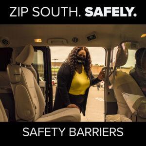 Trinity Metro ZIPZONE Safety. COVID Service Updates.