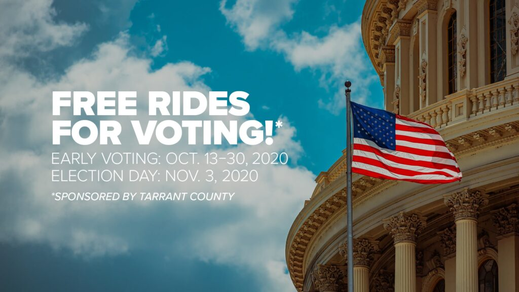 Free Rides to Voting Locations