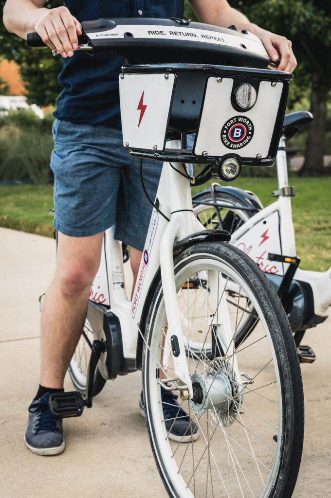 Fort Worth Bike Sharing and GoPass App Integration