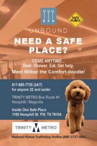 Ad for Unbound Trinity Metro