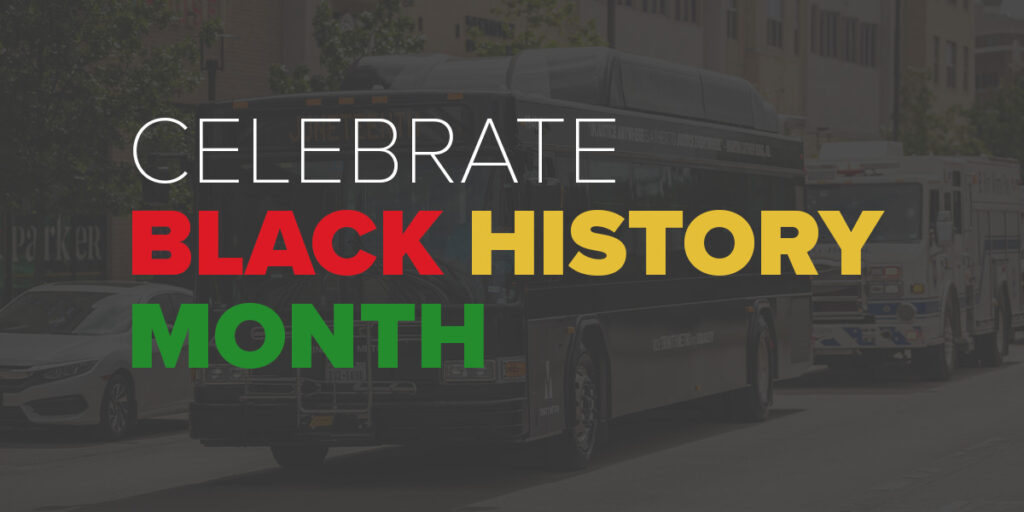 Trinity Metro Newsletter. Black History Month.