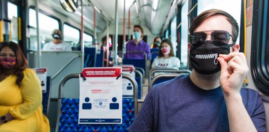 Federal face mask order enforced