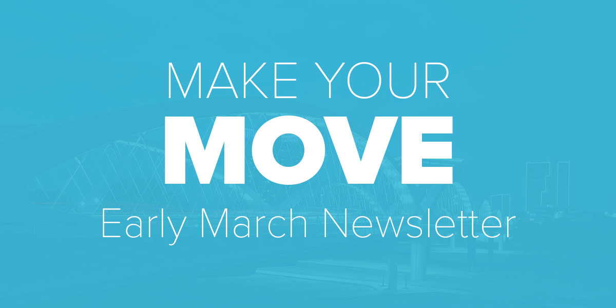 Trinity Metro Blog. Early March Newsletter