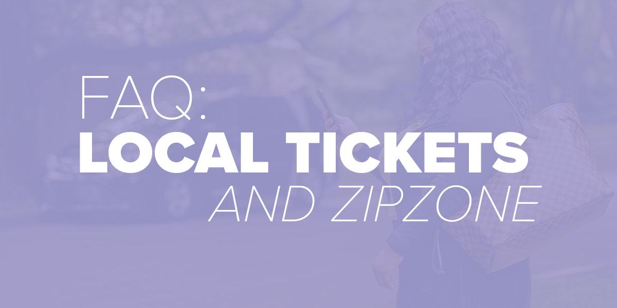 Trinity Metro Blog. Using ZIPZONE with local tickets