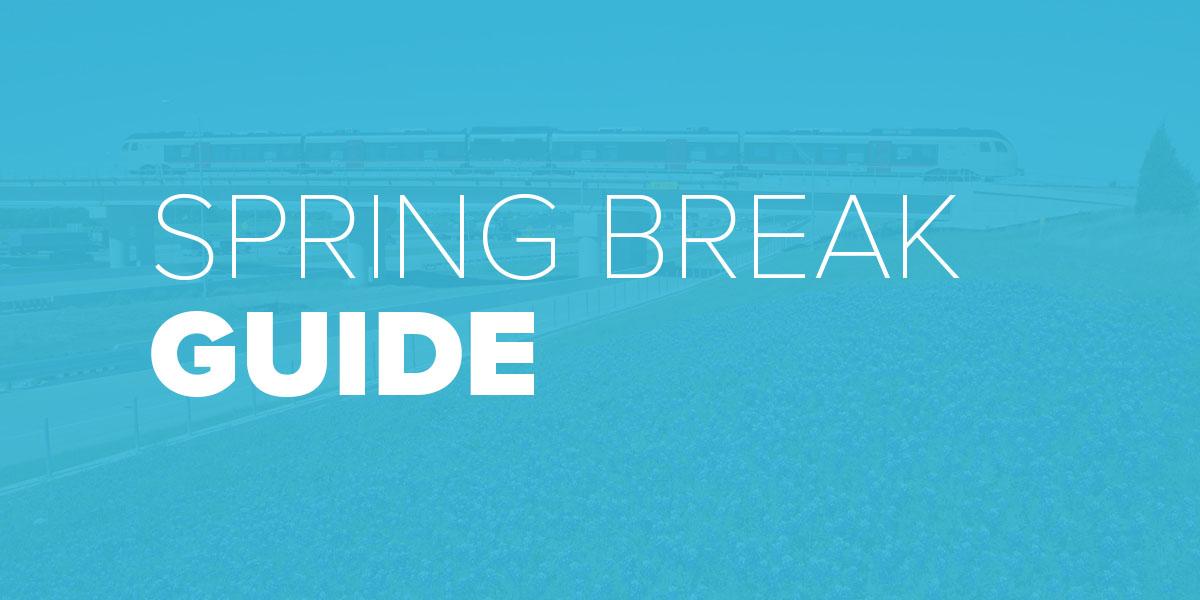 Trinity Metro Blog. Spring Break Guide.