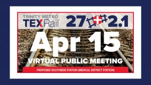 TEXRail Virtual Public Meeting