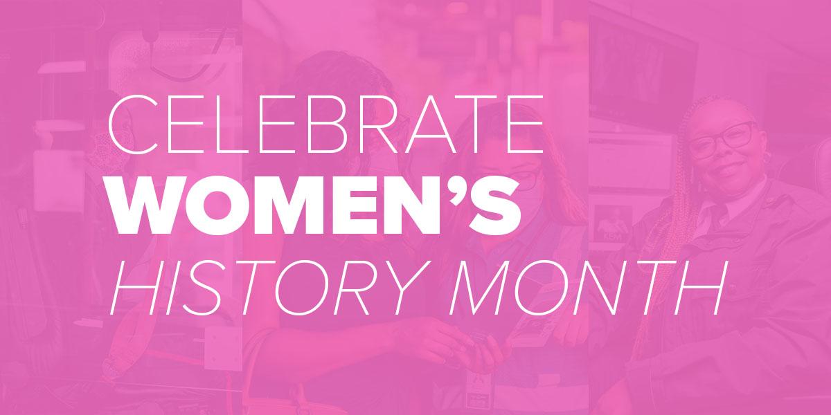 Trinity Metro Blog. Women's History Month Celebration