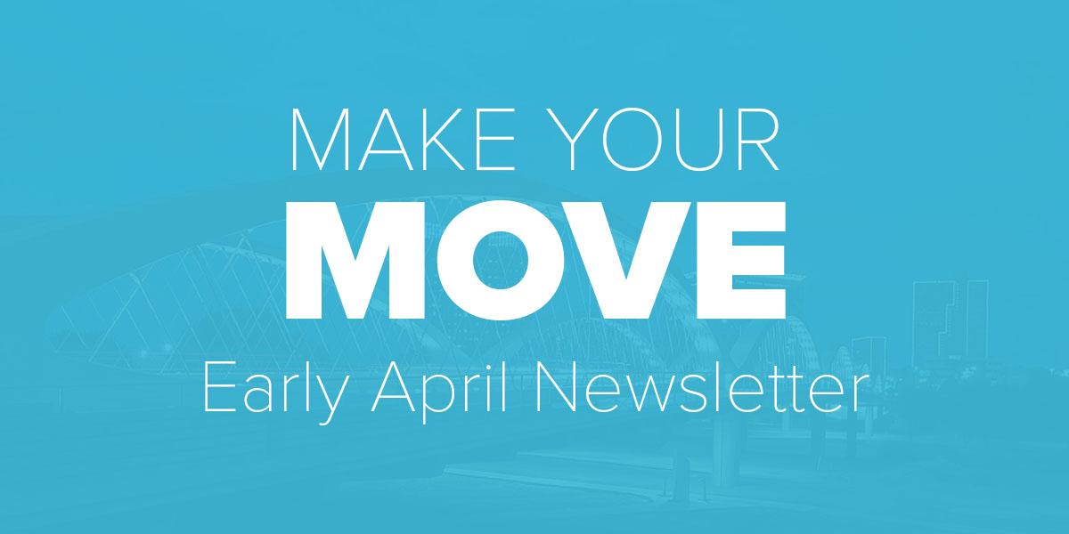 Trinity Metro Blog. Early April Newsletter.