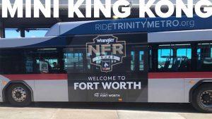 Trinity Metro Bus Advertising Mini King Kong