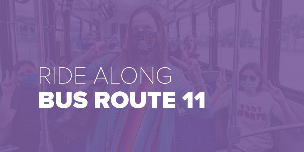 Trinity Metro Blog Ride Along Bus Route 11