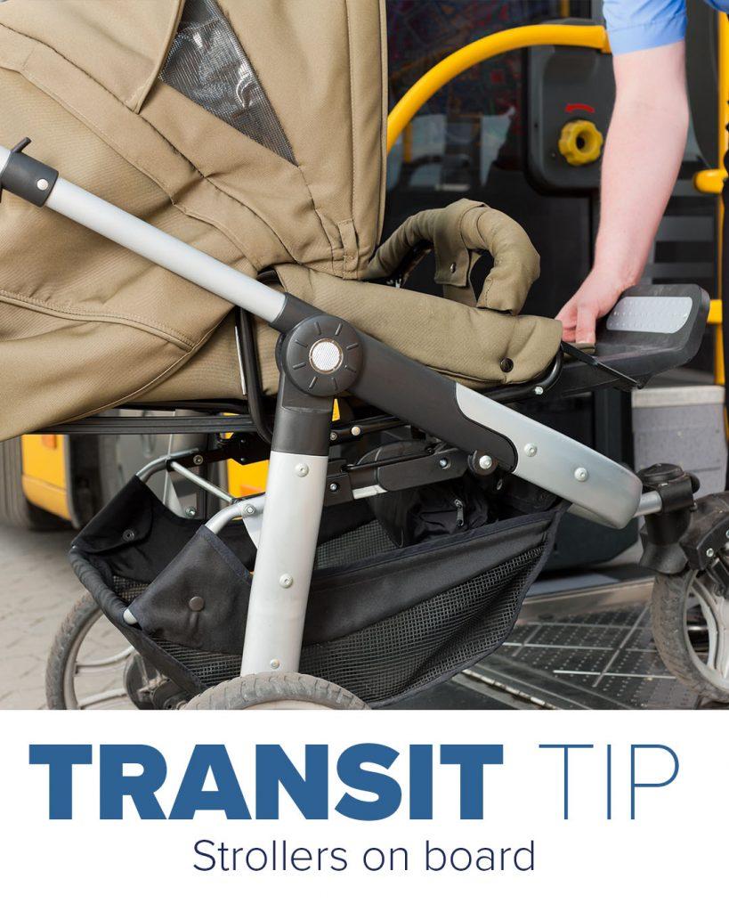 Trinity Metro Newsletter Transit Tip Strollers On Board