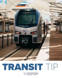 Trinity Metro Blog Early May Newsletter Transit Tip