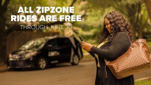 Zipzone Rides Free through June