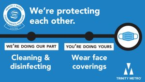 Trinity Metro Safety Message
