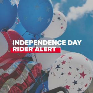 Trinity Metro Blog Late June Newsletter Independence Day Rider Alert