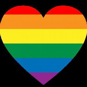 Trinity Metro Pride Heart