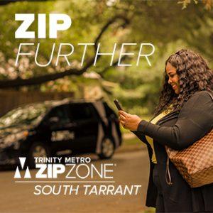 Trinity Metro Blog. South Tarrant ZIPZONE