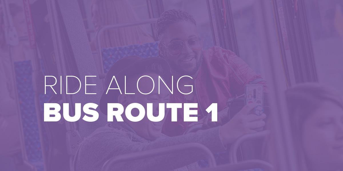 Trinity Metro Blog Ride Along Bus Route 1