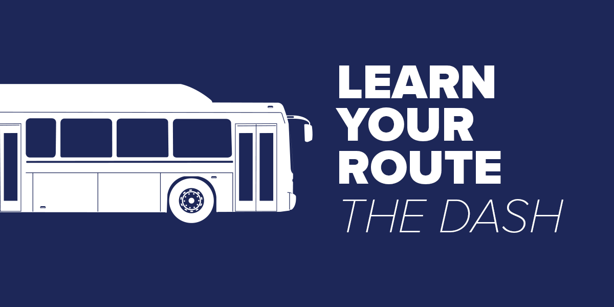 Trinity Metro The Dash Learn Your Route